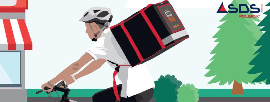 Súmate este otoño a la moda del delivery con tus propias bolsas isotérmicas